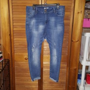 YMI Midrise Ankle Jeans